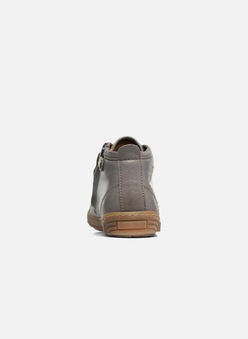 Sneaker Bisgaard Geo grau ansicht von rechts