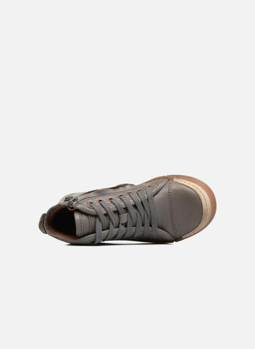 Sneaker Bisgaard Geo grau ansicht von links