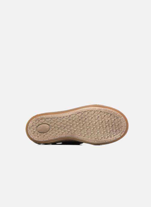 Sneaker Bisgaard Geo grau ansicht von oben