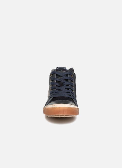 Sneaker Bisgaard Geo blau schuhe getragen