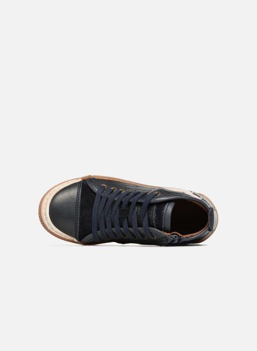 Baskets Bisgaard Geo Bleu vue gauche
