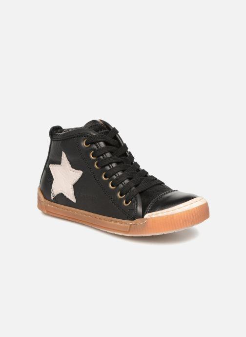 Sneakers Bisgaard Geo Zwart detail
