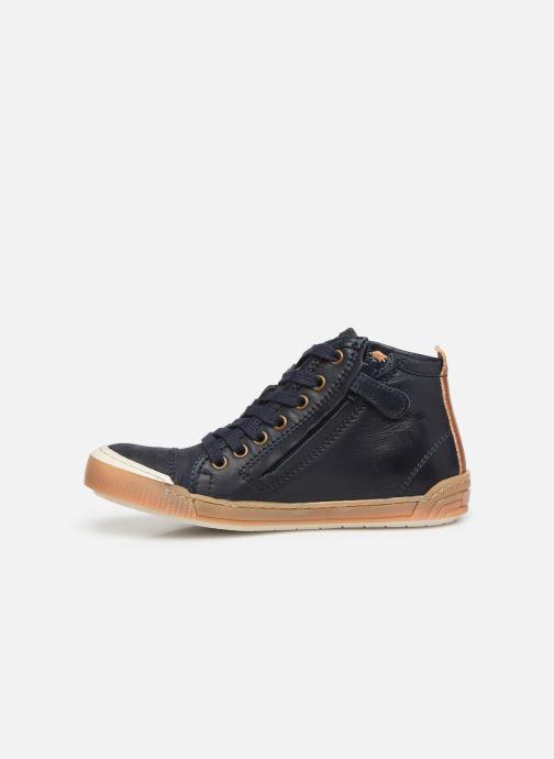 Sneakers Bisgaard Geo Azzurro immagine frontale