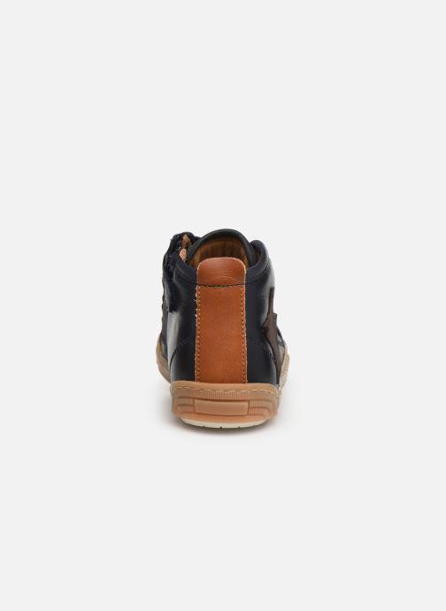 Sneaker Bisgaard Geo blau ansicht von rechts