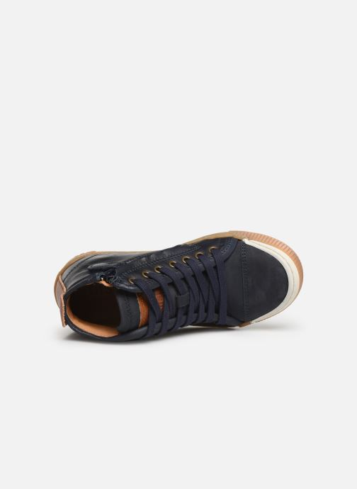 Sneaker Bisgaard Geo blau ansicht von links