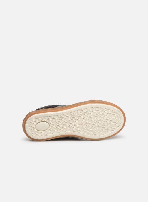Sneaker Bisgaard Geo blau ansicht von oben