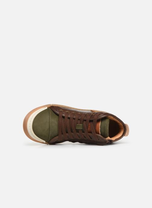 Trainers Bisgaard Geo Brown view from the left