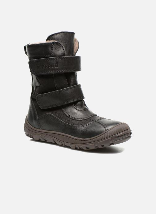 Ankle boots Bisgaard Dorthe Black detailed view/ Pair view