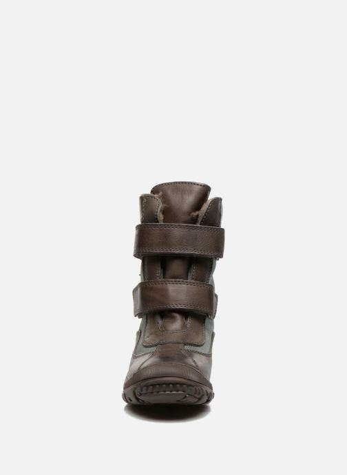 Ankle boots Bisgaard Dorthe Green model view