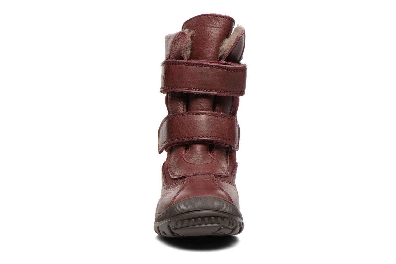 Bottines et boots Bisgaard Dorthe Bordeaux vue portées chaussures