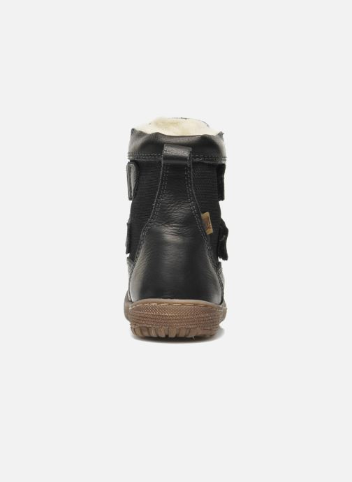 Ankle boots Bisgaard Jegadodre Black view from the right