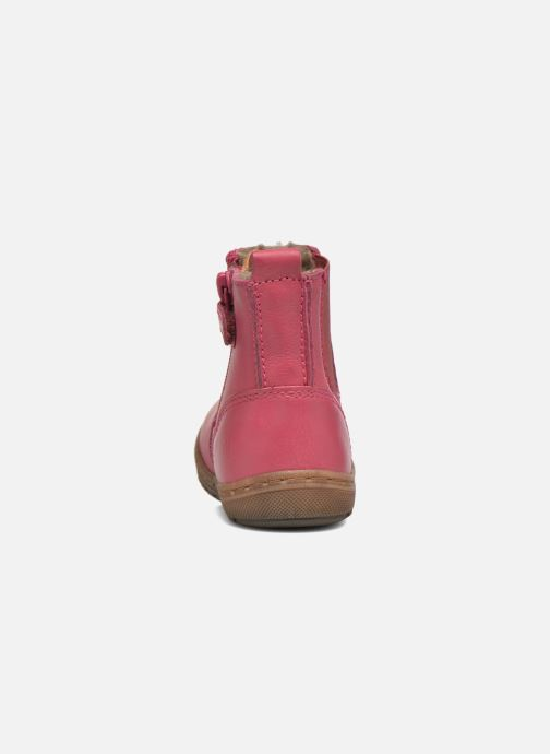 Ankle boots Bisgaard Herveus Pink view from the right