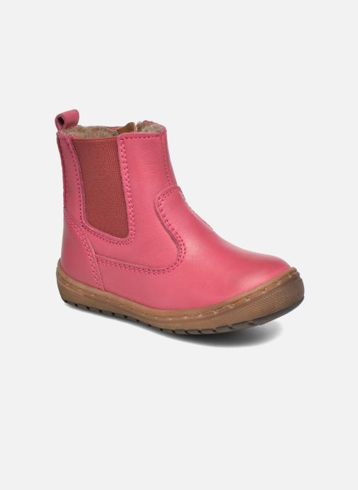 Boots en enkellaarsjes Bisgaard Herveus Roze detail