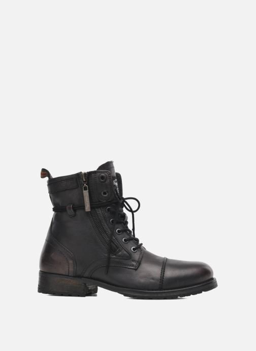 Ankle boots Pepe jeans Melting Zipper Heritage Black back view