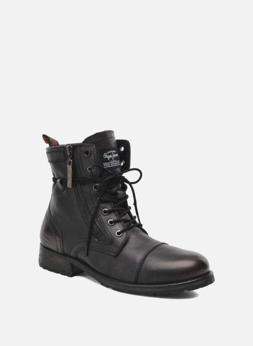Stiefeletten & Boots Pepe jeans Melting Zipper Heritage schwarz detaillierte ansicht/modell