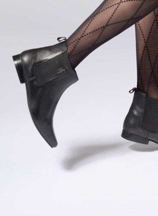 Ankle boots Pepe jeans Redford Basic Black view from underneath / model view