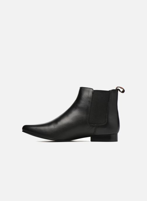 Ankle boots Pepe jeans Redford Basic Black front view