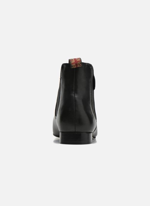 Ankle boots Pepe jeans Redford Basic Black view from the right