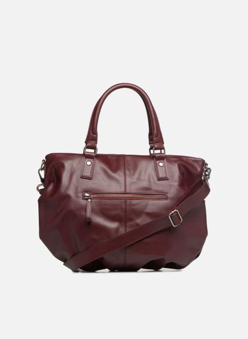 Handtaschen Nat & Nin Noela weinrot ansicht von vorne