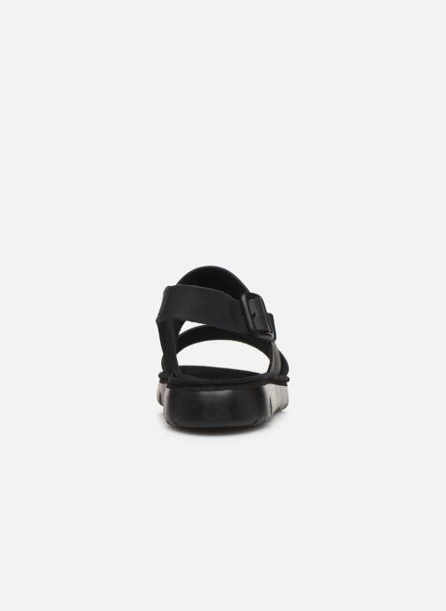 Sandales et nu-pieds Camper Oruga Noir vue droite