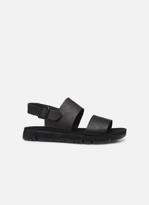 Sandales et nu-pieds Camper Oruga Noir vue derrière