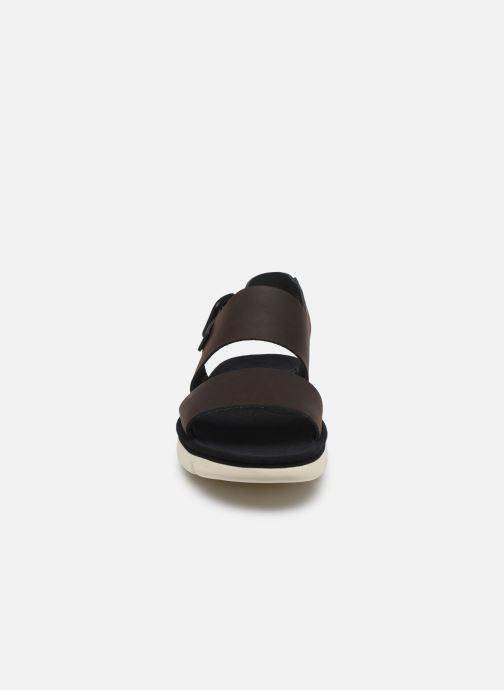 Sandalen Camper Oruga braun schuhe getragen