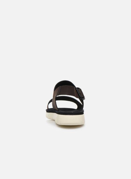Sandali e scarpe aperte Camper Oruga Marrone immagine destra