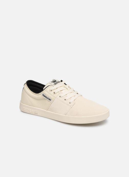 Chaussures de sport Supra Stacks II Blanc vue détail/paire