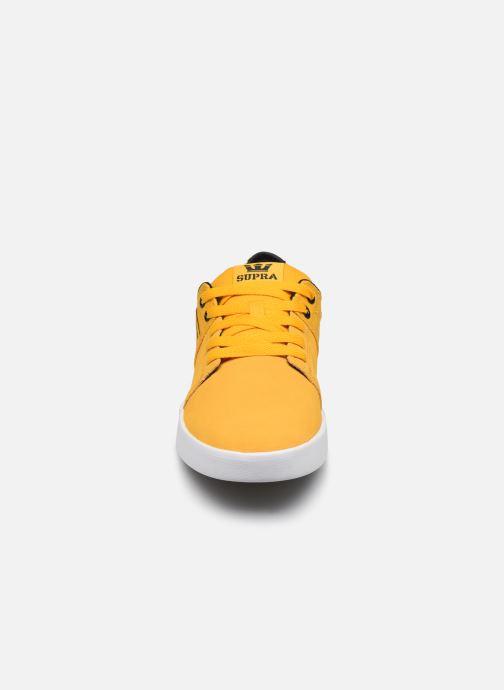 Chaussures de sport Supra Stacks II Jaune vue portées chaussures