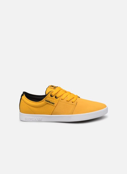 Sport shoes Supra Stacks II Yellow back view