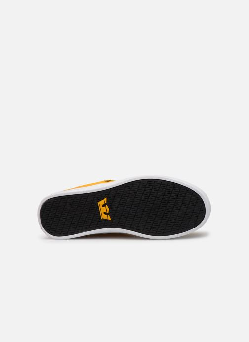 Sport shoes Supra Stacks II Yellow view from above