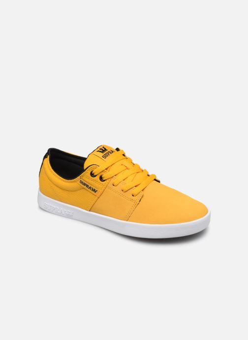 Chaussures de sport Supra Stacks II Jaune vue détail/paire