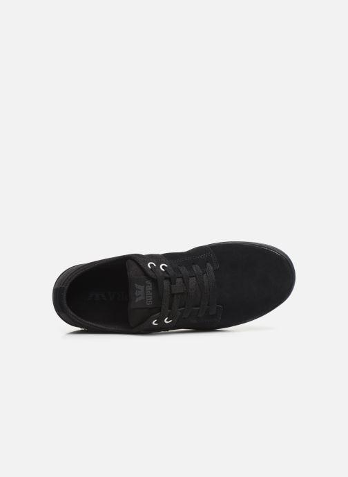 Chaussures de sport Supra Stacks II Noir vue gauche