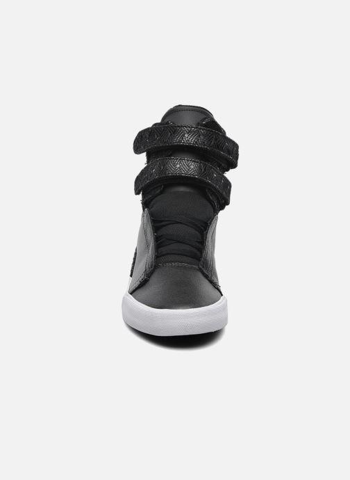 Baskets Supra Society II Noir vue portées chaussures