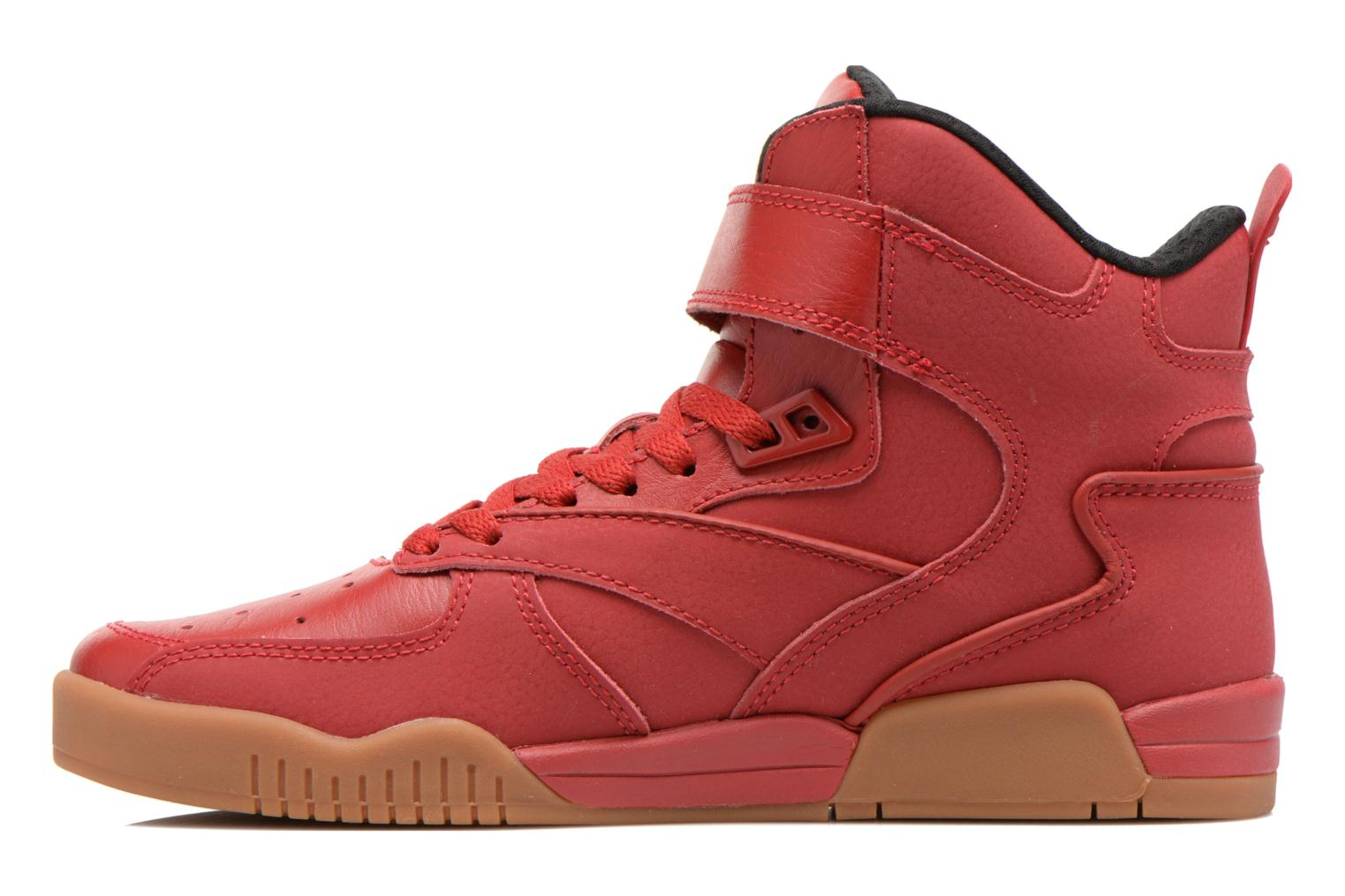 Sneakers Supra Bleeker Rosso immagine frontale