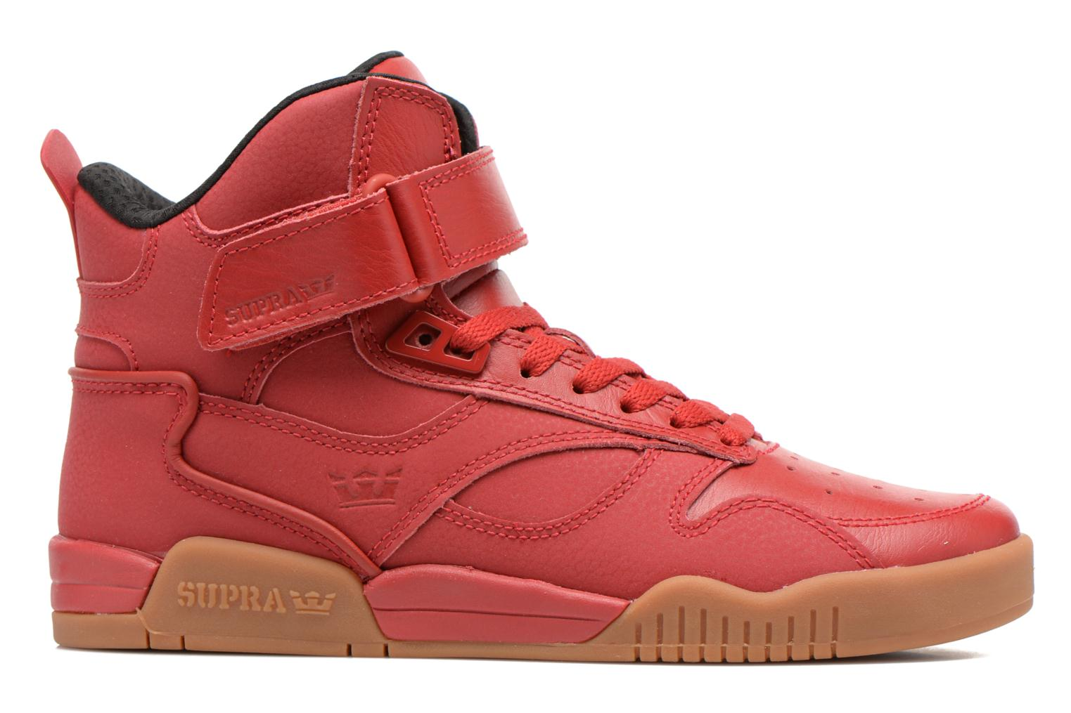 Trainers Supra Bleeker Red back view