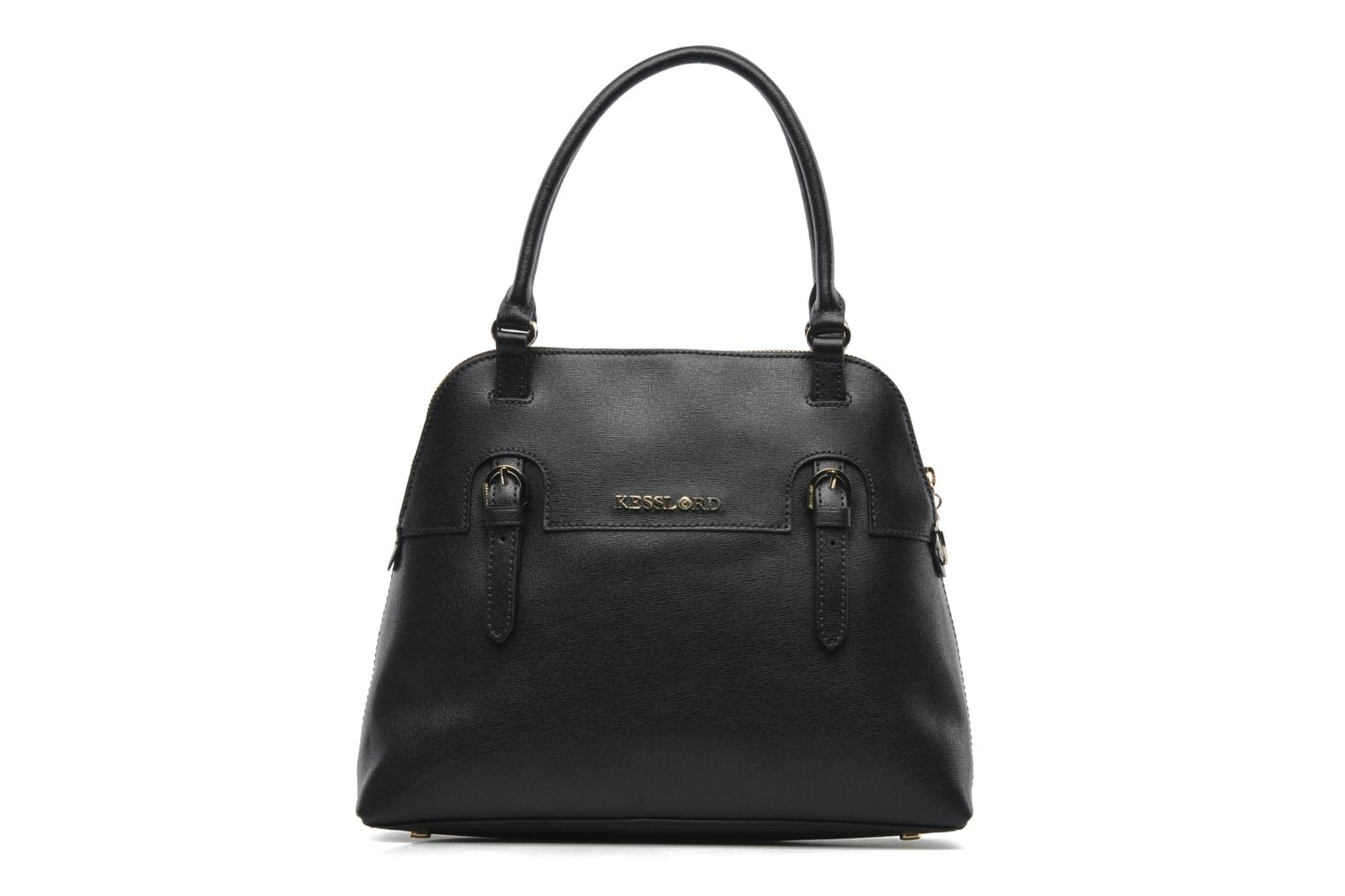Handbags Kesslord Saffiano Sicilia Black Detailed View Pair