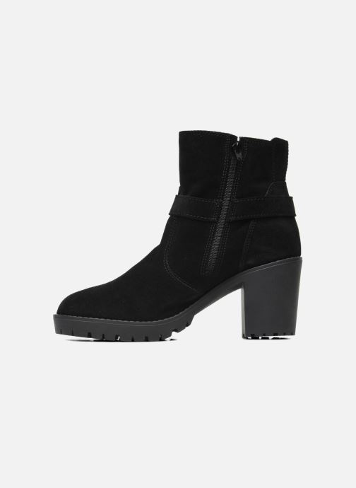Ankle boots Esprit Baily Buckle 022 Black front view