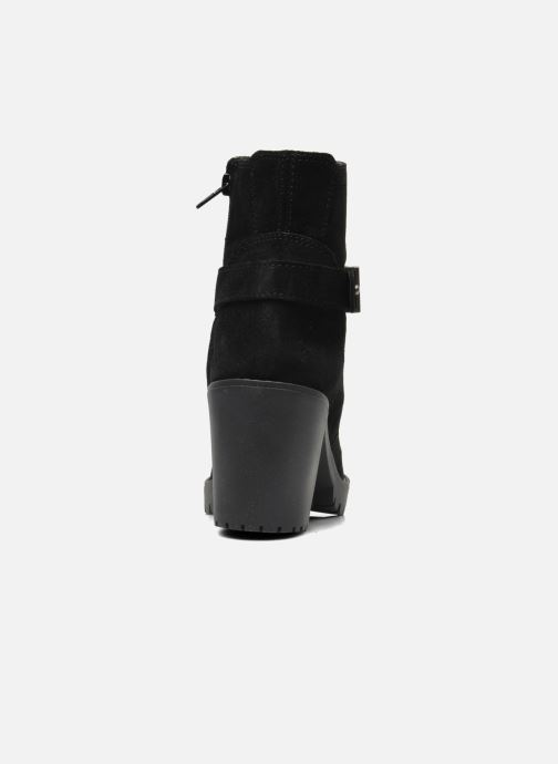 Ankle boots Esprit Baily Buckle 022 Black view from the right