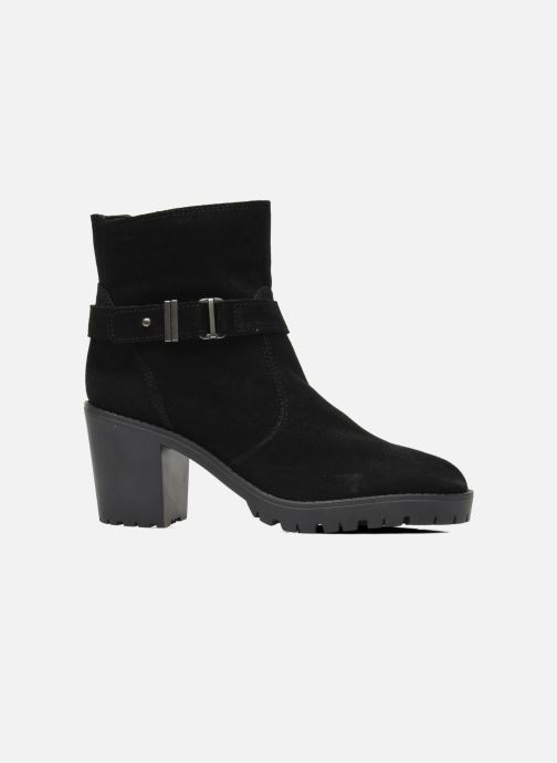 Ankle boots Esprit Baily Buckle 022 Black back view