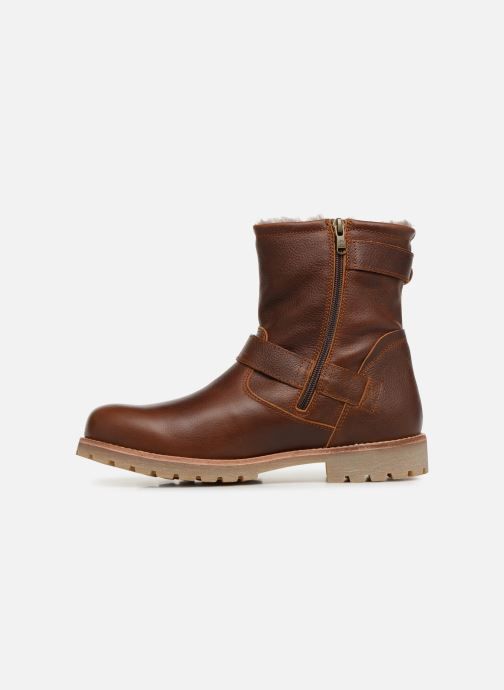 Bottines et boots Panama Jack Faust Igloo Marron vue face