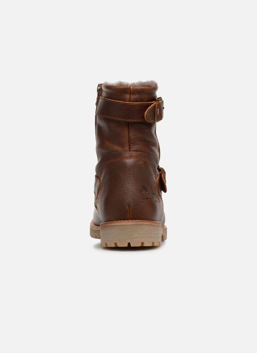 Boots en enkellaarsjes Panama Jack Faust Igloo Bruin rechts