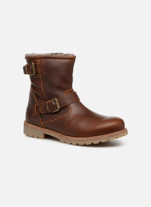 Bottines et boots Panama Jack Faust Igloo Marron vue détail/paire