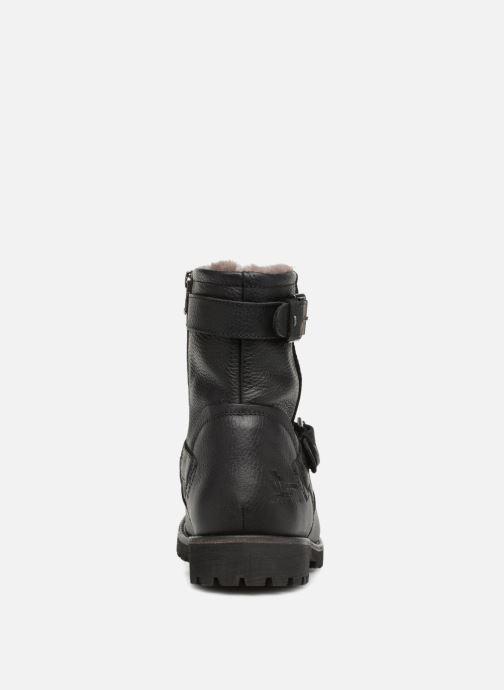 Bottines et boots Panama Jack Faust Igloo Noir vue droite