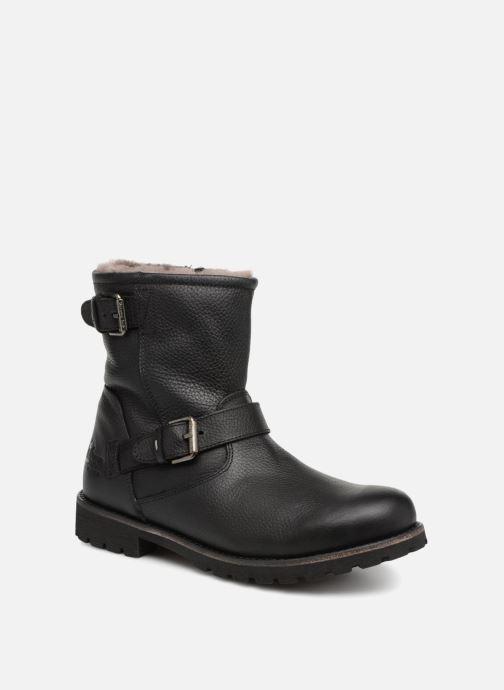 Bottines et boots Panama Jack Faust Igloo Noir vue détail/paire