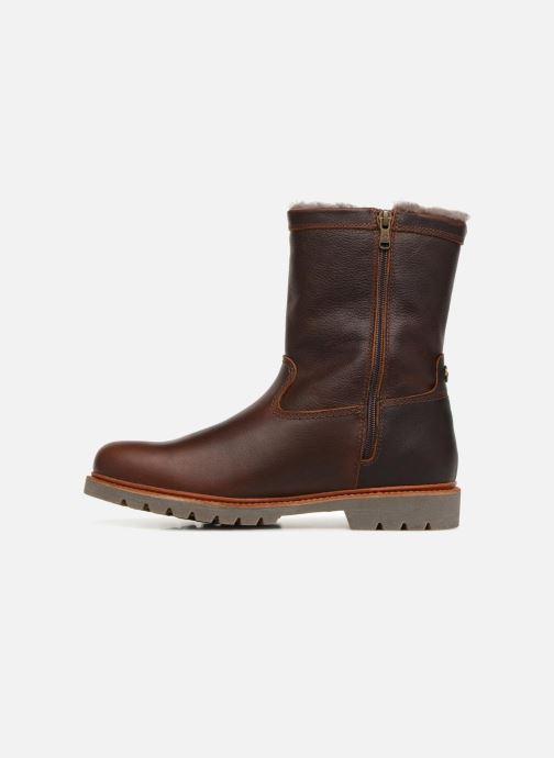 Bottines et boots Panama Jack Fedro Igloo Marron vue face