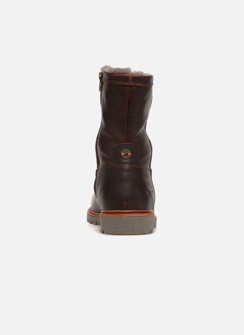 Bottines et boots Panama Jack Fedro Igloo Marron vue droite