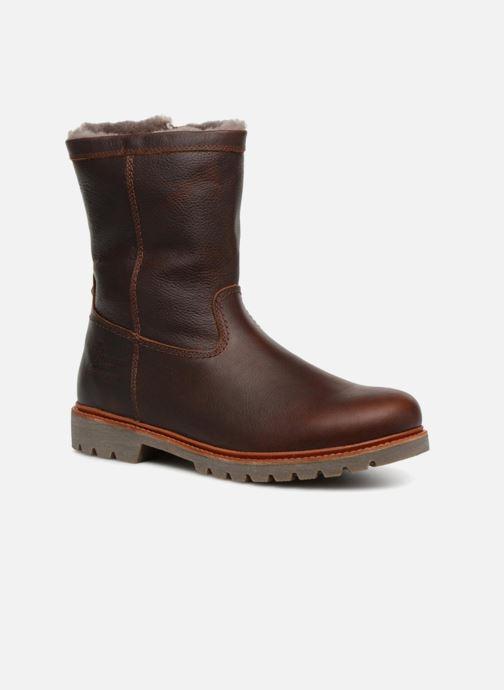 Bottines et boots Panama Jack Fedro Igloo Marron vue détail/paire