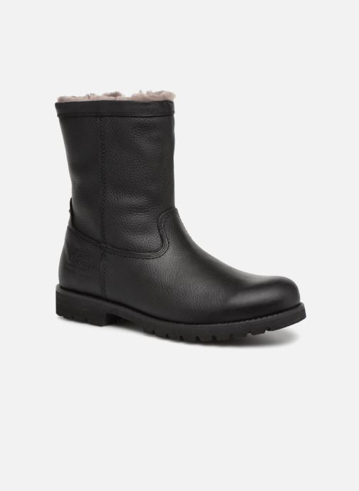 Bottines et boots Panama Jack Fedro Igloo Noir vue détail/paire