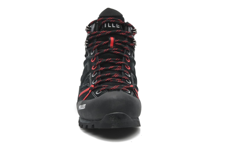Chaussures de sport Millet Super Trident GTX Noir vue portées chaussures